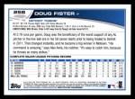 2013 Topps #258  Doug Fister   Back Thumbnail