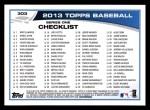 2013 Topps #303  Alex Rodriguez   Back Thumbnail