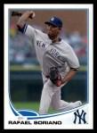 2013 Topps #329  Rafael Soriano   Front Thumbnail
