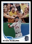 2013 Topps #330  Ryan Raburn   Front Thumbnail