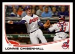 2013 Topps #341  Lonnie Chisenhall  Front Thumbnail