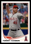 2013 Topps #352  Tommy Hanson  Front Thumbnail