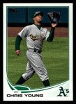 2013 Topps #368  Chris Young  Front Thumbnail