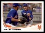 2013 Topps #388  Justin Turner  Front Thumbnail