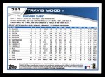 2013 Topps #391  Travis Wood  Back Thumbnail