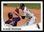 2013 Topps #395  Alexei Ramirez  Front Thumbnail