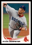 2013 Topps #401  Ryan Dempster  Front Thumbnail