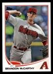 2013 Topps #406  Brandon McCarthy  Front Thumbnail