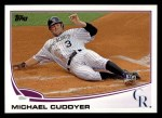 2013 Topps #449  Michael Cuddyer  Front Thumbnail