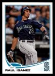2013 Topps #452  Raul Ibanez  Front Thumbnail