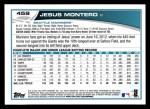 2013 Topps #459  Jesus Montero  Back Thumbnail