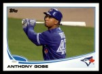 2013 Topps #468  Anthony Gose  Front Thumbnail