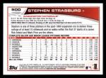 2013 Topps #500  Stephen Strasburg  Back Thumbnail