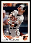 2013 Topps #510  Nate McLouth  Front Thumbnail