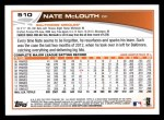2013 Topps #510  Nate McLouth  Back Thumbnail