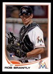 2013 Topps #511  Rob Brantly  Front Thumbnail