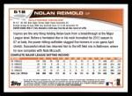 2013 Topps #518  Nolan Reimold  Back Thumbnail