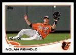 2013 Topps #518  Nolan Reimold  Front Thumbnail