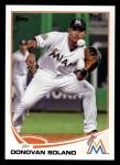 2013 Topps #543  Donovan Solano  Front Thumbnail