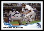 2013 Topps #546  Carlos Quentin  Front Thumbnail