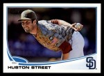 2013 Topps #549  Huston Street  Front Thumbnail