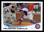 2013 Topps #551  Welington Castillo  Front Thumbnail