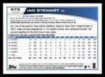 2013 Topps #573  Ian Stewart  Back Thumbnail
