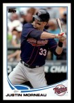 2013 Topps #575  Justin Morneau  Front Thumbnail