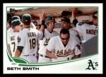 2013 Topps #582  Seth Smith  Front Thumbnail