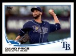 2013 Topps #627  David Price  Front Thumbnail