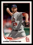 2013 Topps #631  Chris Carpenter  Front Thumbnail