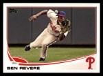 2013 Topps #637  Ben Revere  Front Thumbnail