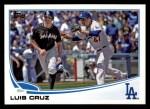 2013 Topps #645  Luis Cruz  Front Thumbnail