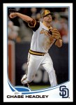 2013 Topps #653  Chase Headley  Front Thumbnail