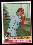 1976 Topps #502  Tim McCarver  Front Thumbnail