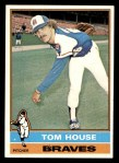 1976 Topps #231  Tom House  Front Thumbnail