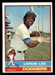 1976 Topps #487  Leron Lee  Front Thumbnail