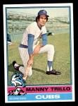 1976 Topps #206  Manny Trillo  Front Thumbnail