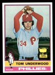 1976 Topps #407  Tom Underwood  Front Thumbnail