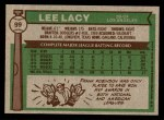 1976 Topps #99  Lee Lacy  Back Thumbnail