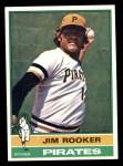 1976 Topps #243  Jim Rooker  Front Thumbnail