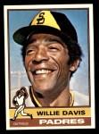 1976 Topps #265  Willie Davis  Front Thumbnail