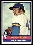 1976 Topps #521  Jim Colborn  Front Thumbnail