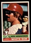 1976 Topps #464  Ken Henderson  Front Thumbnail