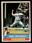 1976 Topps #465  Mike Marshall  Front Thumbnail