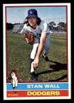 1976 Topps #584  Stan Wall  Front Thumbnail