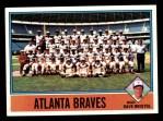 1976 Topps #631   -  Dave Bristol Braves Team Checklist Front Thumbnail