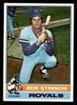 1976 Topps #466  Bob Stinson  Front Thumbnail