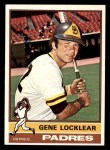 1976 Topps #447  Gene Locklear  Front Thumbnail