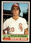1976 Topps #258  Nyls Nyman  Front Thumbnail